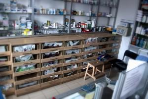 Mobilier Farmacie Biovet