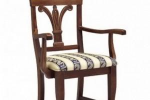 Scaun clasic din lemn